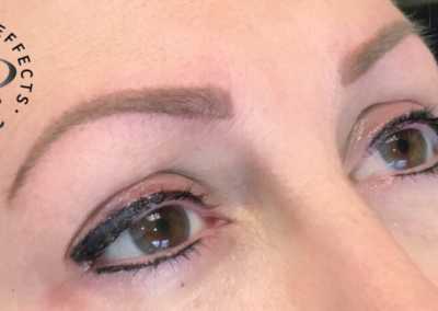 Ombre Brows and Permanent Eyeliner